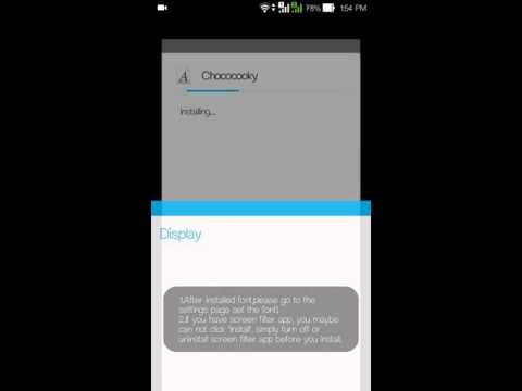 How To Change Font Style On Asus Zenfone 5
