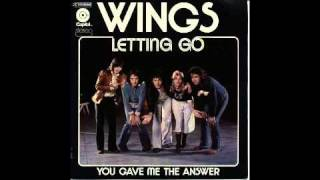 Wings: Letting Go (Single Version)