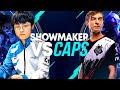 CAPS vs SHOWMAKER Battle For #1 MID WORLD *CRAZY SOLO KILLS*