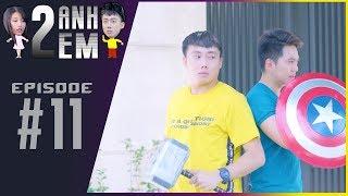Series Hài | HAI ANH EM - Tập 11 : Ginô Tống đánh Thành Khôn vì hẹn hò với Kim Chi | By PHIM CẤP 3