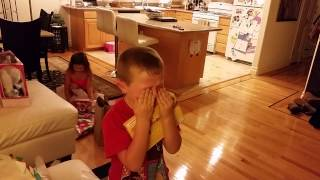 Xmas Reaction - Nintendo 3DS Kid (try not to tear up)
