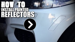 How to Install iND Painted Reflectors For BMW M235i
