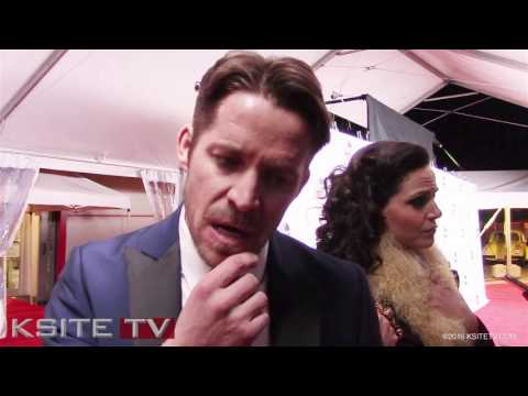 Sean Maguire Robin Hood  Once Upon A Time 100th Episode Red Carpet