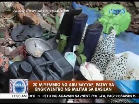 20 miyembro ng Abu Sayyaf, patay sa engkwentro ng militar sa Basilan