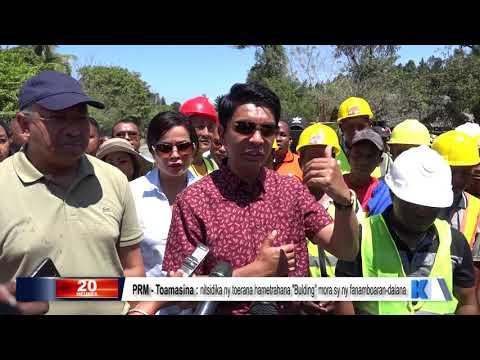 INFO K MADA PRM Toamasina DU 16 SEPTEMBRE 2019 BY KOLO TV