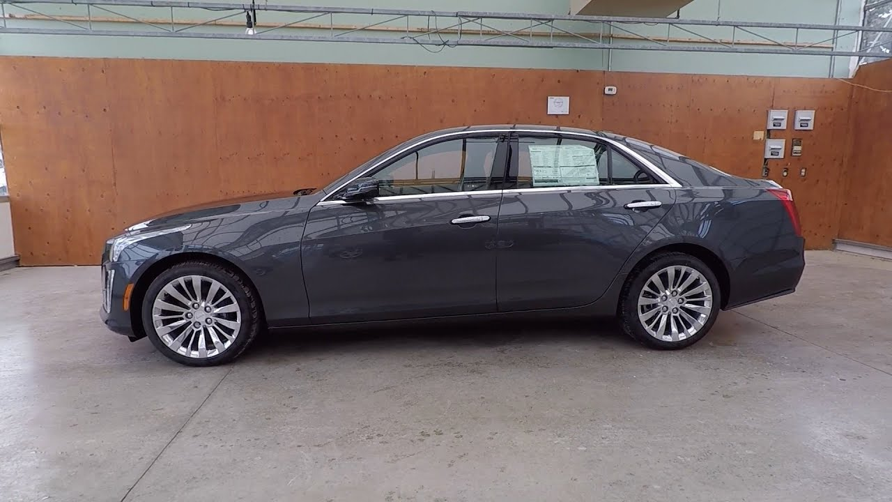 2018 Cadillac Cts 3 6l V6 Awd Luxury Phantom Grey Youtube