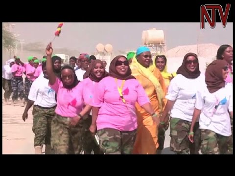 Female members of AMISOM in Somalia call for more women in peacekeeping missions in Africa