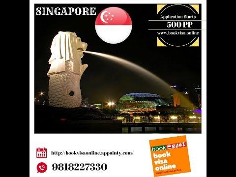 Singapore Visa Documents Check list, Apply Singapore Visa Online