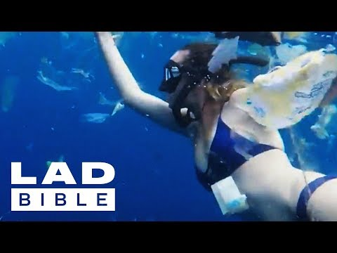 Trash Isles: Everyday Hero Freediver Julia Wheeler Documents Horrendous Plastic Pollution