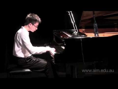 Scherzo B minor op. 20 - F Chopin - Piano Recital @ AIM