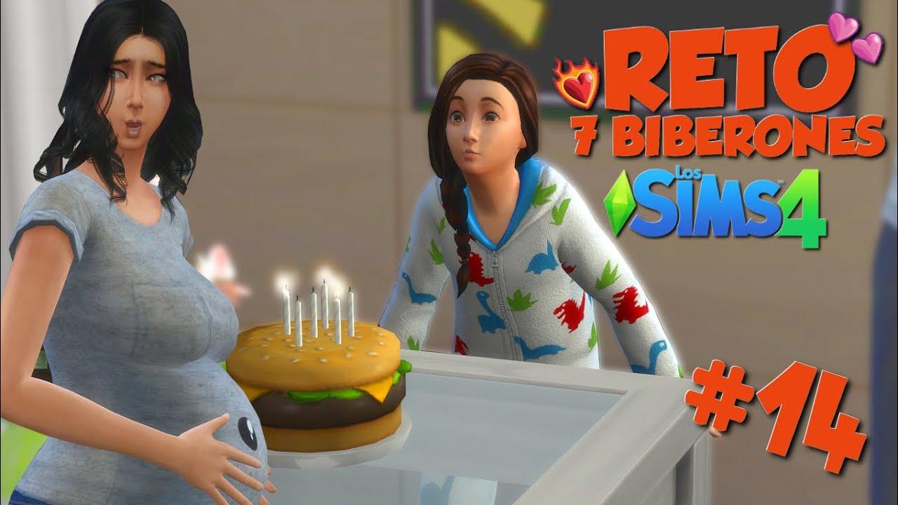 Reto 7 Biberones Los Sims 4 Cuarto Biberón Y Cumpleaños De Nicole Ep 14 Youtube