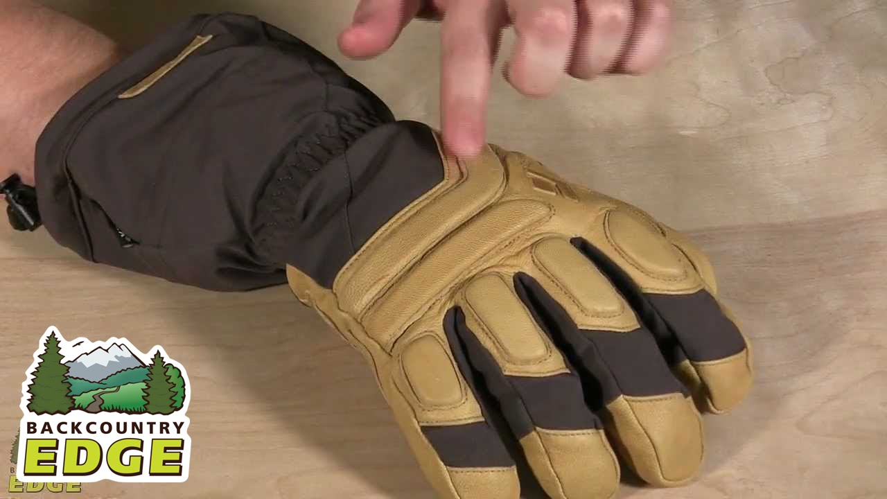 Black Diamond Guide Finger Gloves Medium Ash | Curated.com