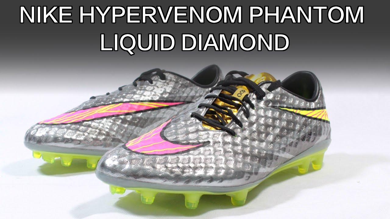 4d42663276 Nike Hypervenom Phantom Liquid Diamond: Neymar's New Football Boots Review  - YouTube