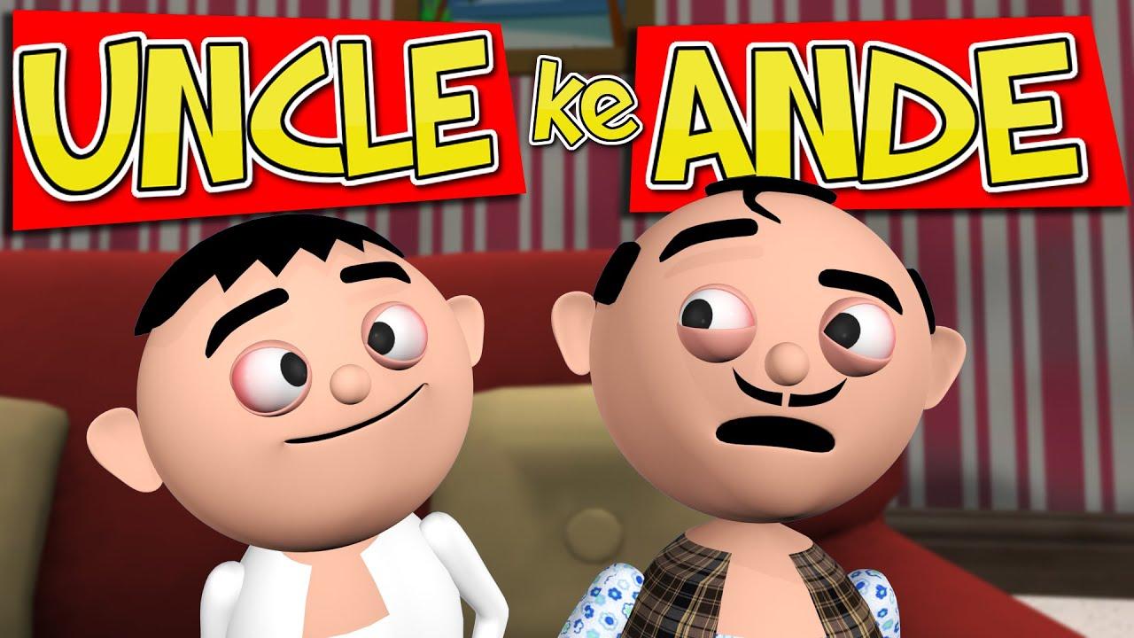 Uncle Ke Ande (अंकल के अंडे) - MSG TOONS comedy video vines || Ludo in Lock Down
