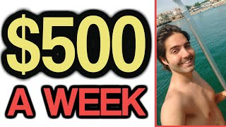 Making $500 a Week in a Few Minutes Per Day