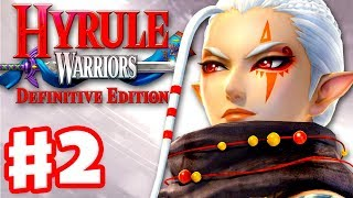 Impa in Eldin Caves! - Hyrule Warriors: Definitive Edition - Gameplay Walkthrough Part 2