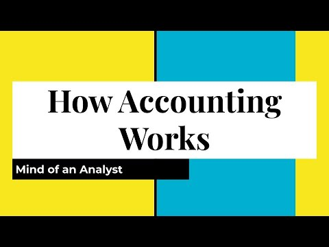 Mind of an Analyst - How Accounting Works