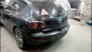 Убираем ржавчину и красим бампера на Мазда 3. Mazda 3 Body repair