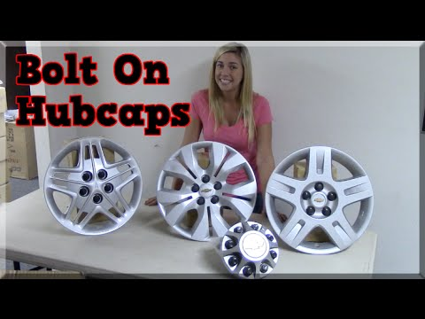 How To Install Bolt On Hubcaps Wheel Covers Amp Bolt On
