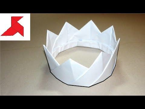 DIY 👑 - Как сделать КОРОНУ из бумаги А4 своими руками?