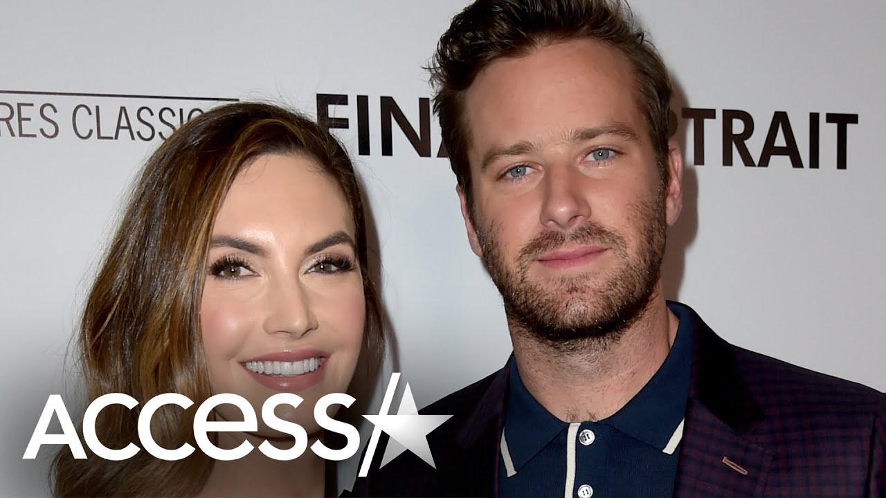 Armie Hammer, Elizabeth Chambers announce split after 10 years ...