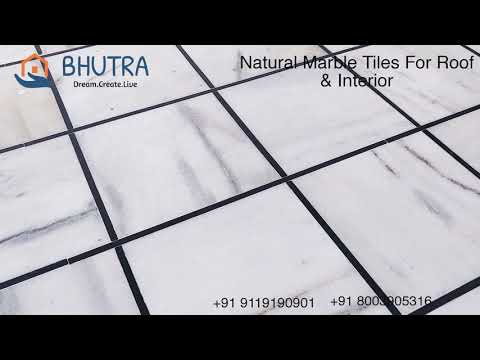 Roof Tiles ( Natural Marble Cut Piece ) 5-15 ₹ Per Square Feet , Bhutra Marble Kishangarh Wholesale