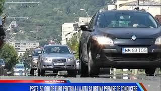 Peste 50.000 de euro pentru a-i ajuta să obțină permise de conducere