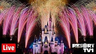 🔴Live: 4th of July Fireworks at Magic Kingdom 1080p - Walt Disney World Live Stream - 7-3-19