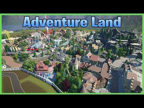 Theme Park Adventure Land! Park Spotlight 114 #PlanetCoaster