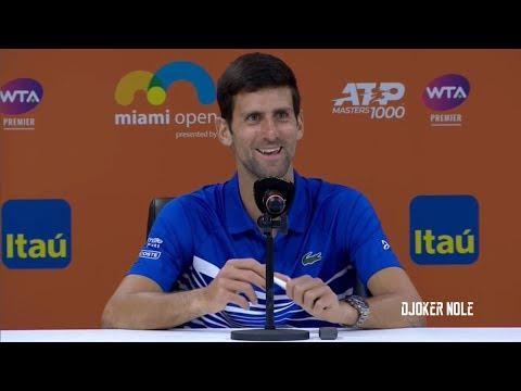 "Novak Djokovic ""I personally don't like THAT"" - Miami 2019 (HD)"