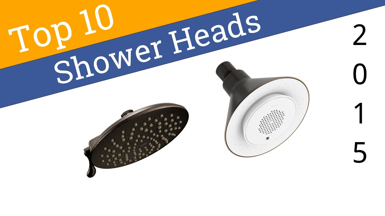 10 Best Shower Heads 2015 - YouTube