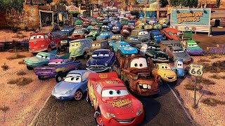 Лучший развлекательный мультик!!Тачки 2 Молния МакКуин Мультфильмы про Машинки для детей.Гонки!!