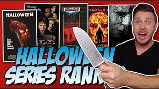 All 11 Halloween Movies Ranked!