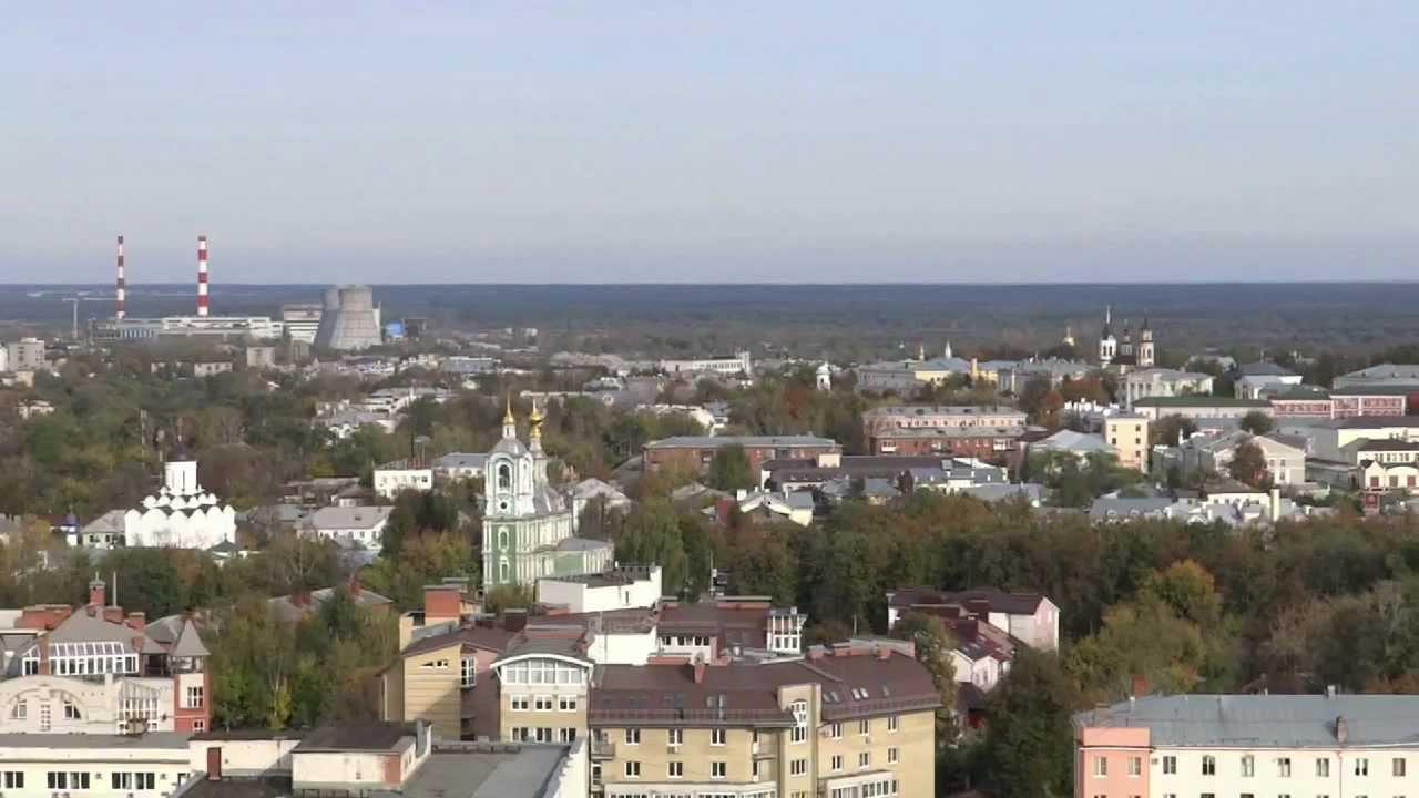 Владимир наш город в HD YouTube