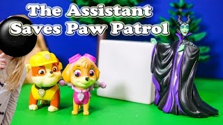 PAW PATROL Nickelodeon The Assistant Saves Paw Patrol a Paw Patrol Video Parody