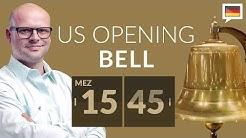Düstere Lage, doch Märkte halten sich. noch? - US Opening Bell mit Marcus Klebe - 03.04.2020