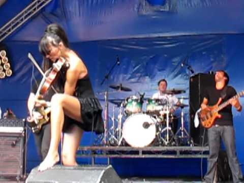 Anna Phoebe Band Weyfest 2010 - 05/09/2010