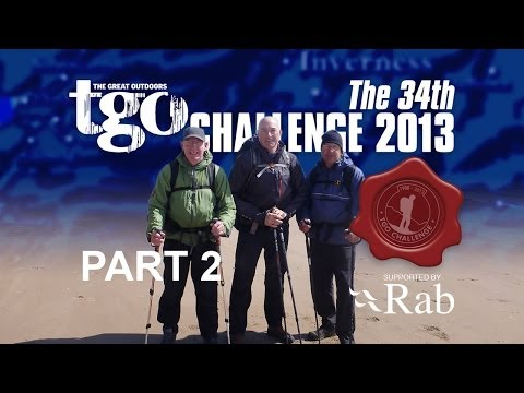 The 34th Rab TGO Challenge 2013 -  Video and route review - Pt 2