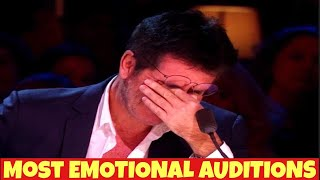 X FACTOR - MOST EMOTIONAL AUDITIONS EVER | TRY NOT TO CRY !!
