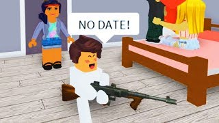 BREAKING UP ONLINE DATERS WITH ADMIN COMMANDS AS A BABY IN ROBLOX! thumbnail