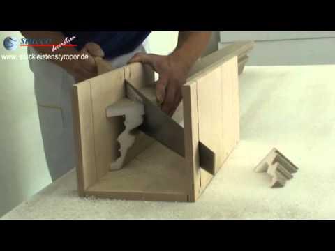 gehrungschneiden von decosa zierprofilen doovi. Black Bedroom Furniture Sets. Home Design Ideas