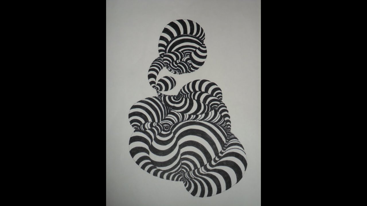 Abstracto composici n textura conformada por trazados for Imagenes de cuadros abstractos faciles