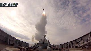 «Ракета в воздухе!»  корабли ВМФ России провели учения в Балтийском море