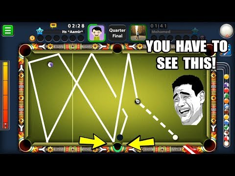 HONESTLY THE LUCKIEST 8 BALL POOL MATCH I'VE EVER WITNESSED...(hilarious 3 shots)