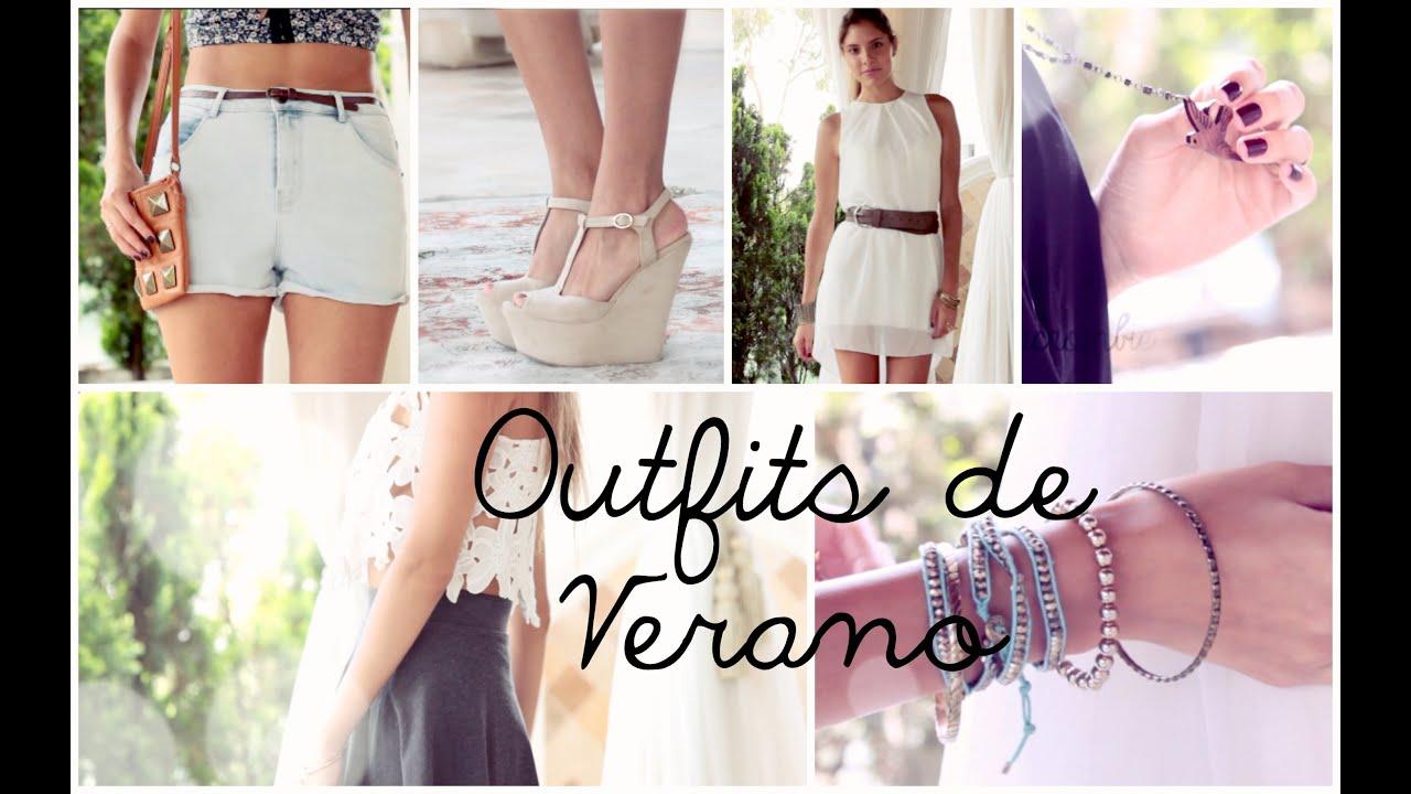 SUMMER LOOKBOOK- 4 Outfits de Verano | Valeria Basurco
