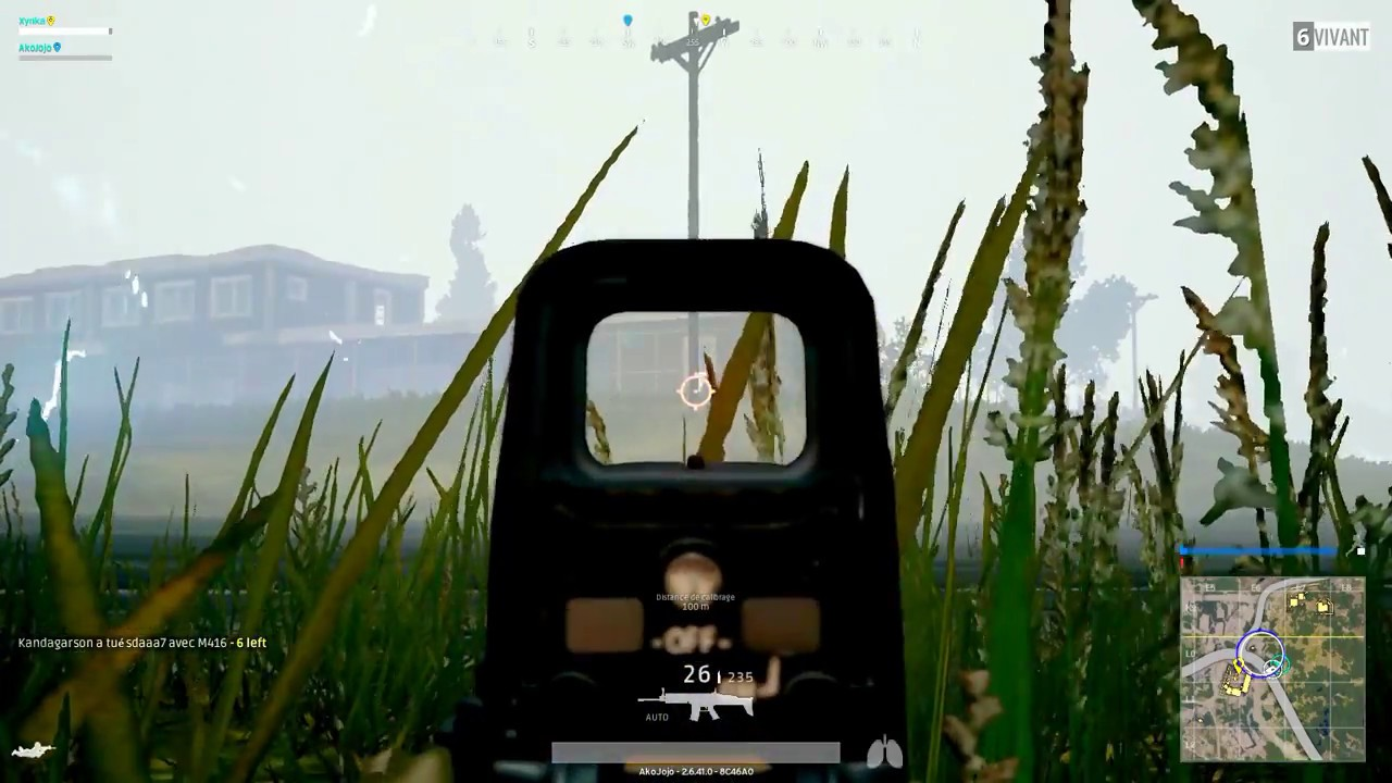 Last head shot to victory Duo PlayerUnknown's Battlegrounds