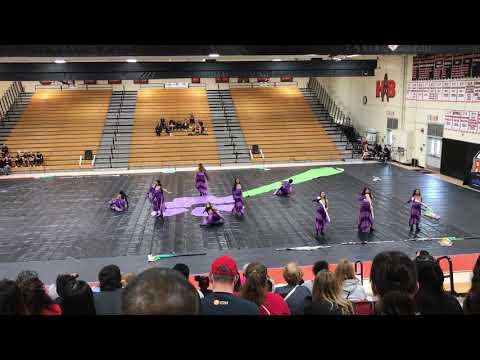 Norte Vista High School 2019 Winter Guard Championships