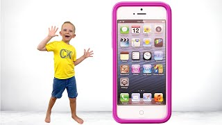 Martin and the magic phone Pretend play for kids