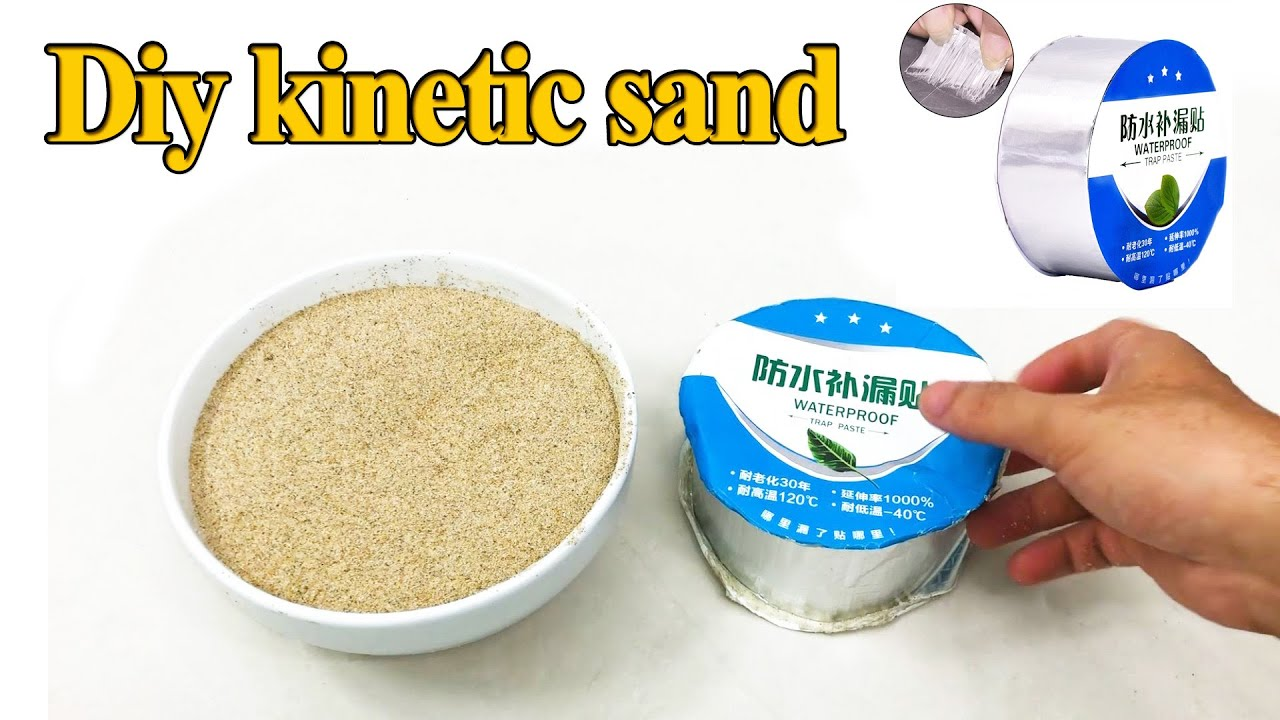 DIY SAND CLAY!! Testing NO GLUE Kinetic Sand Recipes! NO DRY