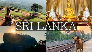 7 Days in Sri Lanka Vlog | Sigiriya, Kandy, Dambulla, Galle, Unawatuna, Colombo